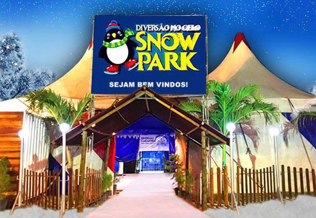 Passaporte para a diversão no gelo! Passaporte Individual Completo para Patinação no Gelo + Water Ball + Montanha de Gelo + Iglu no Snow Park, em Fortaleza por R$39,99