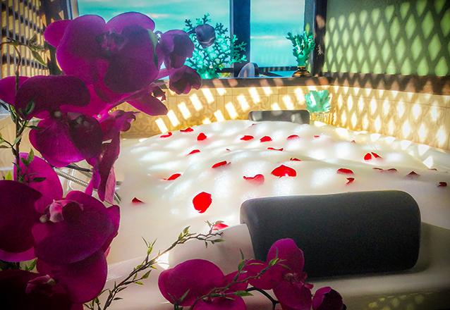 1 Noite de Núpcias em suíte Premium + Pétalas de rosa por R$309