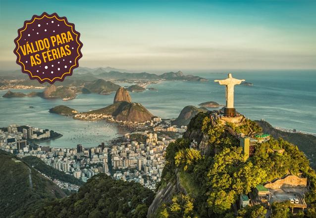 Férias de Julho na Cidade Maravilhosa! Rio de Janeiro com Transporte Aéreo Ida e Volta saindo de Fortaleza + 4 noites no Hotel Royalty Copacabana + café para 1 pessoa por R$1559. Em até 5x sem juros!