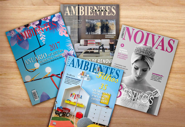 Tudo o que você precisa saber! Assinatura Anual da Revista Ambientes (Arquitetura, Noiva, Imobiliário, Filhos e Anuário) por R$60
