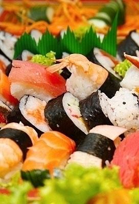 Combinado de 24 peças de sushi de R$61,90 por R$37,90
