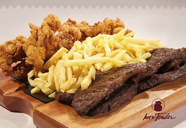 O prato perfeito para compartilhar com os amigos! Tábua de Picanha para até 04 pessoas + Refri (300ml) por R$51,90 na Hot'n Tender