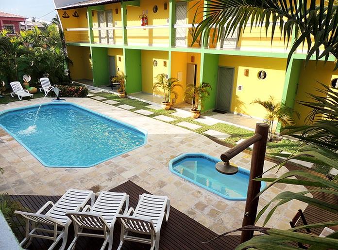 Tranquilidade e conforto na Praia da Pipa! 2 diárias para 2 pessoas e 1 criança de até 6 anos + café da manhã por R$336 na Pousada Maturi