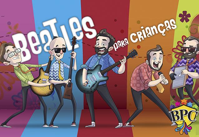 """Um musical para todas as idades! Ingresso Inteira Plateia Superior para o """"Musical Beatles para Crianças"""" no Theatro Via Sul de R$50 por apenas R$24"""
