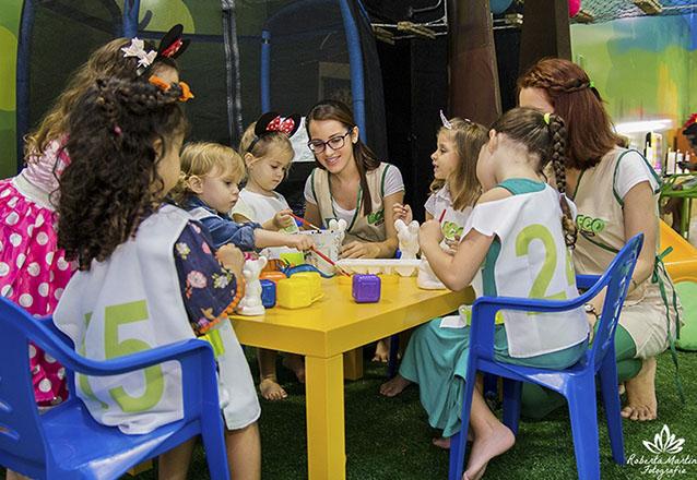 Para o mês das crianças, nada melhor que um lugar de muita diversão! Ingresso Individual Parquinho (duração de 60 min) por R$36 no Eco Clube - Shopping Rio Mar