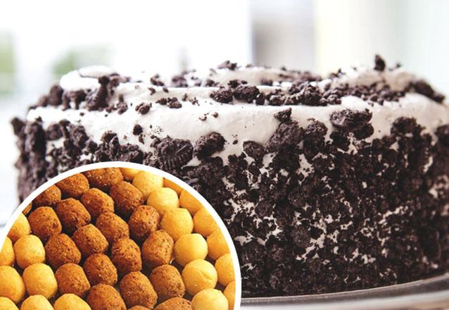 Ideal para aquela confraternização especial! Torta Doce para 40 pessoas + 300 Salgadinhos + 100 Docinhos tradicionais na Vó Maria Doces e Salgados por apenas R$99,90