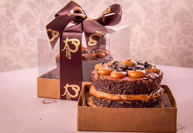 Quero Brownie Mini Torta Brownie Por Apenas R2990 Fortaleza