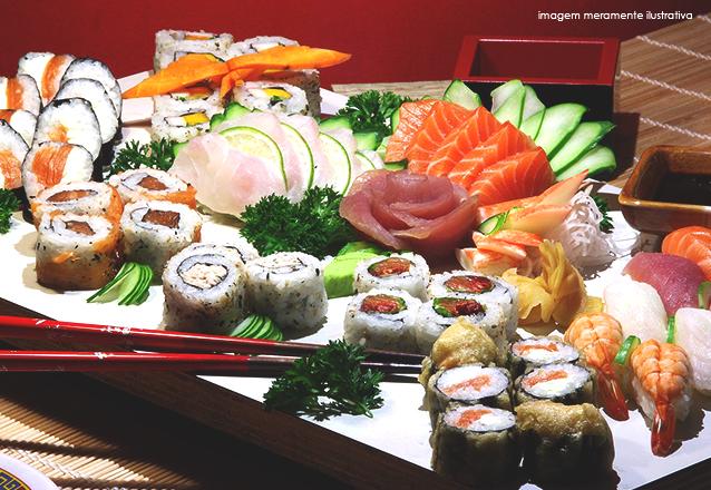 Rodízio de Sushi para 1 pessoa de R$36,90 por R$25,90