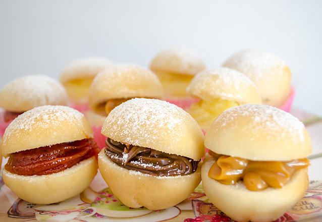 50 Mini Sonhos Gourmet de R$125 por R$89
