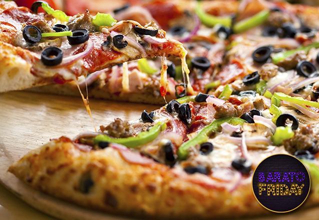 Rodízio completo! Rodízio completo de Pizzas e Massas para 1 pessoa no Toronto Sushi - Restaurante & Massas por apenas R$24,90