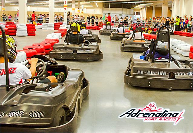 Adrenalina Kart - Corrida de Kart com 20 voltas (apenas Shopping Via ... 14dceda105