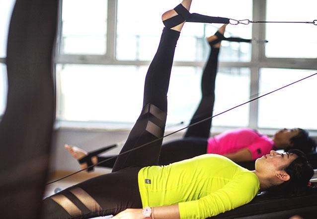 Equilibre suas energias físicas! Mensalidade de Pilates 2 vezes na semana (turmas manhã, tarde e noite) por R$129 no Espaço Viva Mais