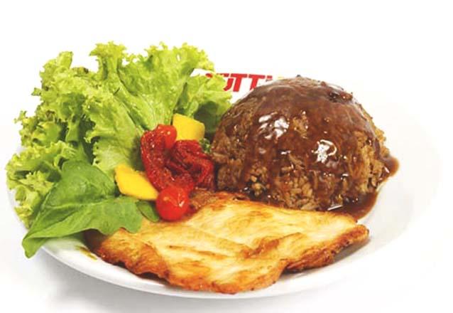Não sabe onde almoçar? Tutti Pani agora está no Barato Coletivo! Prato Executivo de Peito de Frango, Contrafilé ou Picanha Suína + 1 Copo de Suco por R$17,90