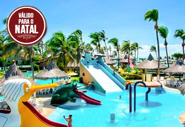 Natal em família é no Hotel Praia das Fontes! 3 diárias para 2 pessoas e 1 criança no Ap Jardim + café da manhã por de R$597 em até 4x sem Juros! Cupons Limitados.
