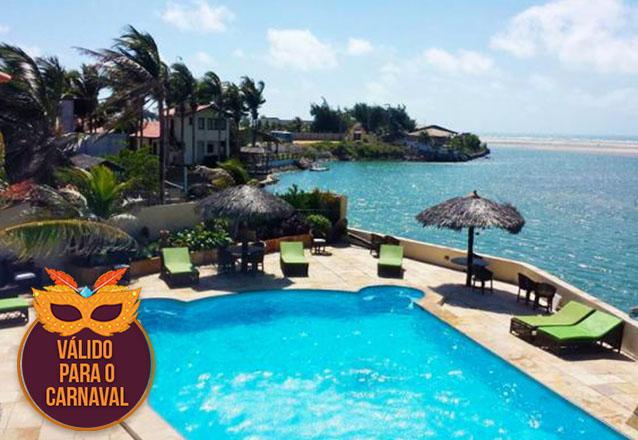 Carnaval tem que ser na praia! 4 diárias para casal e 1 criança até 6 anos + café da manhã por apenas R$1.499 na Pousada Águas Belas Paraíso