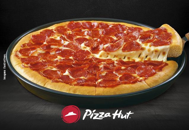 Você merece Pizza Hut! Pizza PAN 12 fatias no jantar de R$77,90 por apenas R$49,90 na Pizza Hut do Cocó!