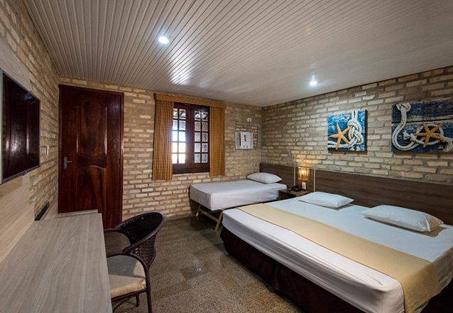 FEV A JUN/18 - 2 diárias em Chalé Jr Jardim Check-in qualquer dia da semana para 2 adultos e 1 criança (até 5 anos, acomodada na mesma cama dos pais) + café da manhã de R$652 por R$477