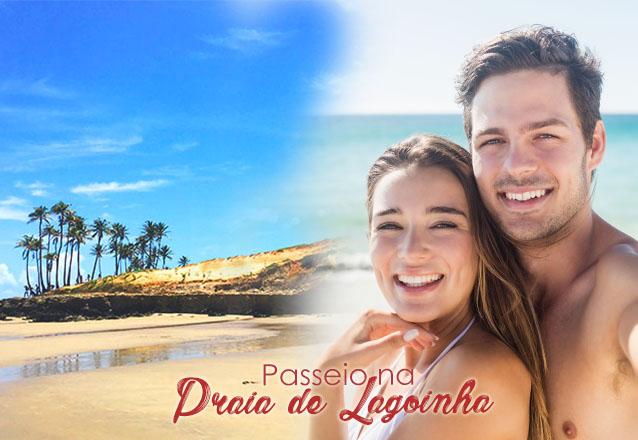 Toda a beleza de Lagoinha no seu dia! Transporte para 1 pessoa (ida e volta) para passeio na Praia de Lagoinha de R$65 porapenas R$49,90