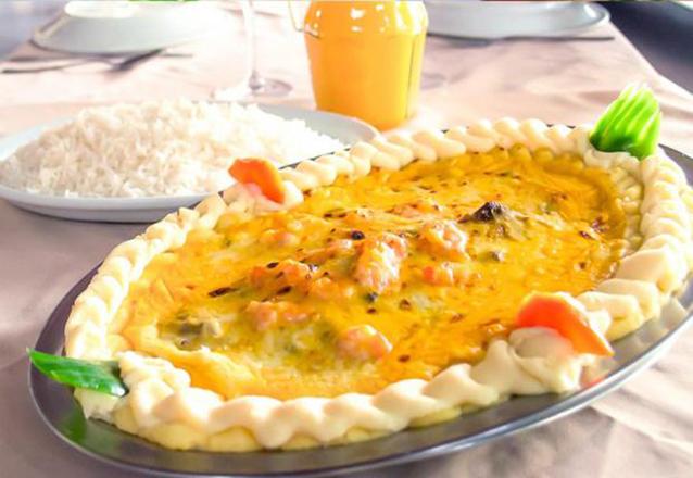 Peixes e frutos do mar é a cara do Sirigaddo da Barão! Prato de Filé de Peixe com 5 opções para até 3 pessoas por apenas R$49,90
