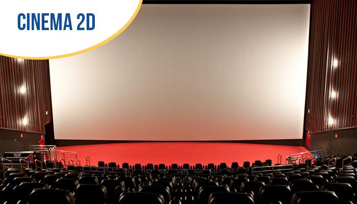 01 Ingresso Inteira Cinema Sala Tradicional 2D - valendo de segunda a quinta de R$22 por R$12,80