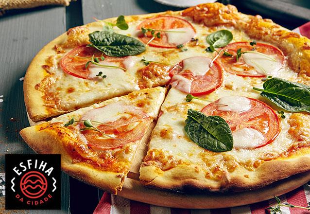 Todos os seus desejos reunidos em uma única oferta! Rodízio Completo de Pizzas e Esfihas para 1 pessoa no Esfiha da Cidade por apenas R$19,90