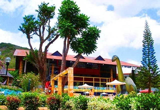 Viajar com a família combina com o Ytacaranha Hotel de Serra na Serra da Meruoca! 2 diárias para casal e 2 crianças + café + Jantar + Parque Aquático + Sessão de cinema por R$389,90