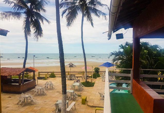 O destino perfeito na praia de Mundaú! 2 diárias com café da manhã para casa de R$400 por apenas R$269 na Pousada Sombra dos Coqueiros