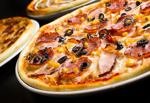1 Pizza grande salgada de R$45 por apenas R$34,90