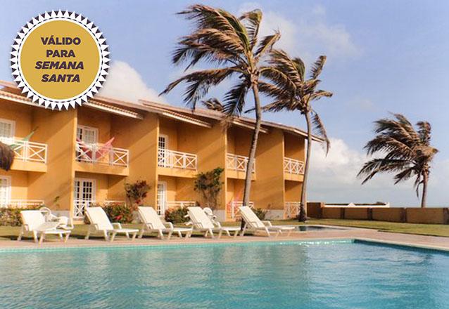 Seu destino na Semana Santa é o Bouganville Hotel! 3 noites para casal e 1 criança de até 6 anos + café da manhã por de R$829