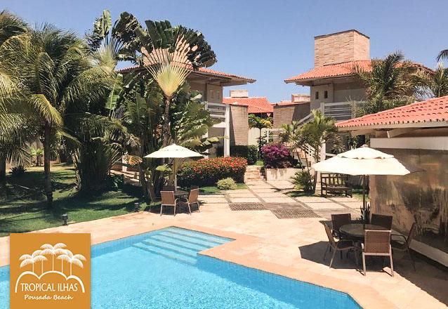 1 diária no Apartamento Luxo para 2 pessoas com café da manhã de R$237 por R$166