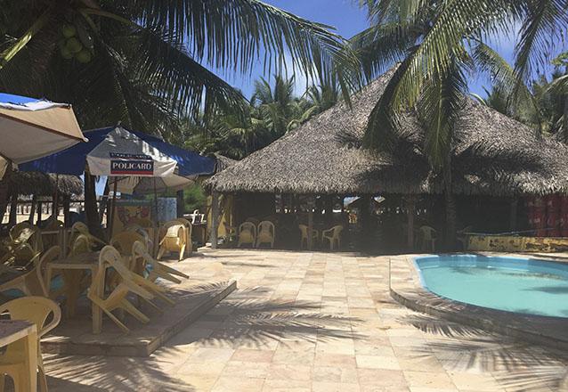 Barraca diferente beach til pia completa para 2 pessoas Piscinas para tilapias
