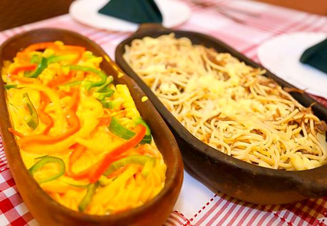 La Pasta Ristorante & Pizzaria - Parquelândia: Rodízio Completo de Massas, Pizzas e Esfirras por R$28,90