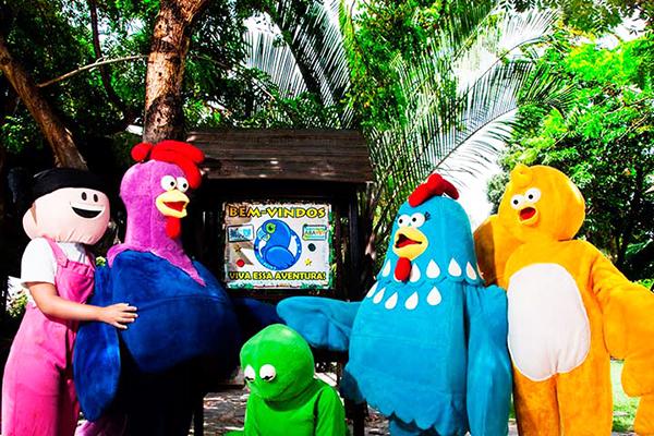 Diversão para toda a família no Ecopoint! 1 Ingresso Individual (adulto ou criança) por apenas R$15