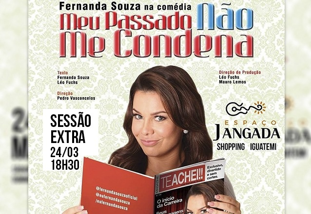 Sessão Extra: 01 Ingresso Inteira Plateia Ouro de R$80 por R$40