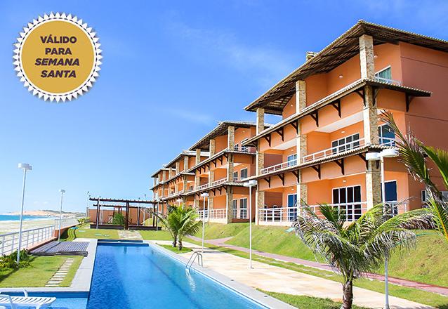 2 diárias para 4 adultos e 1 criança de até 6 anos em Apartamento Mobiliado por R$699