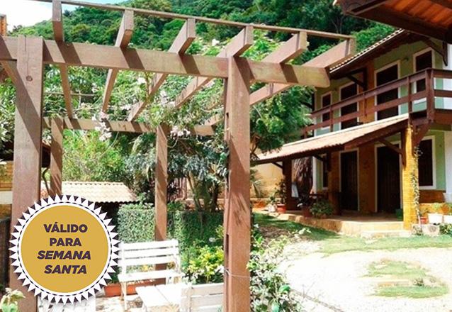 Já tem planos para a Semana Santa? Que tal na serra? 3 diárias para casal e 1 criança + café da manhã por R$490 no Chalé Vila Morena, em Pacoti