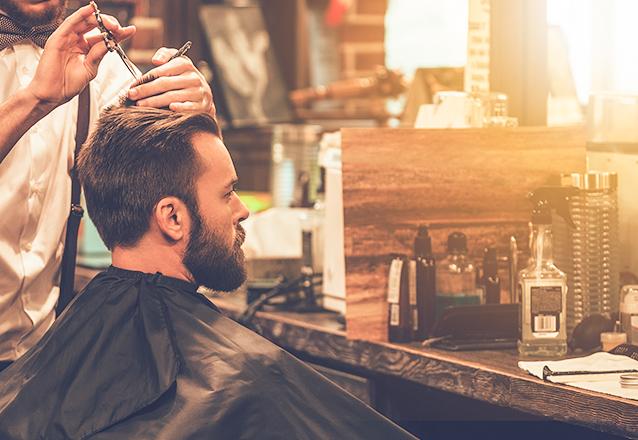Corte de cabelo social de R$40 por R$19,90