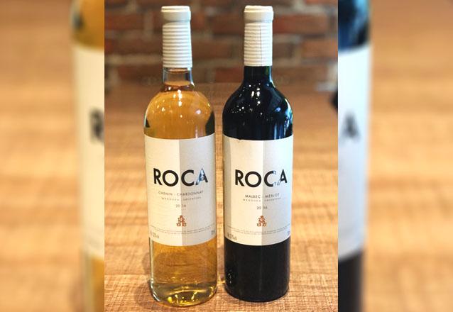 Quem curte vinho, vai amar essa oferta! Kit com Roca Malbec/Merlot (750ml) + Roca Chenin/Chardonay (750ml) por R$99,90 no Brava Wine