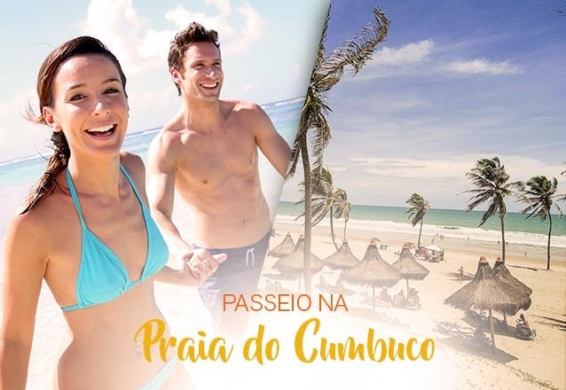 Uma praia é sempre bom! Transporte para 1 pessoa para passeio na Praia do Cumbuco por apenas R$35,90 com a Caasi Turismo
