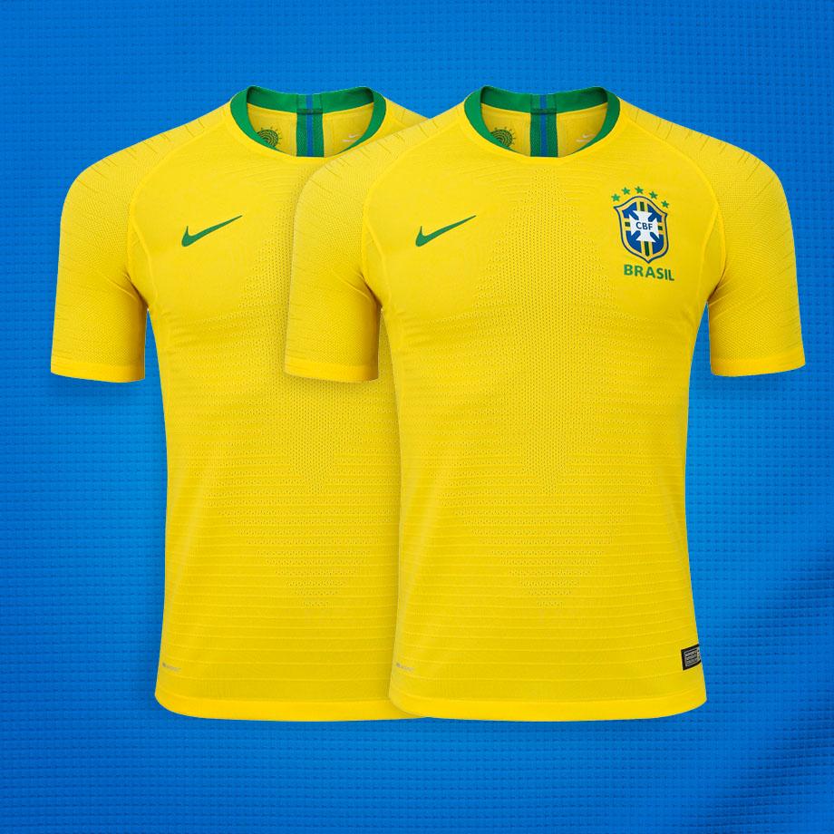 47ccd34041 Você vai torcer pelo Brasil na Copa de 2018 vestindo a Camisa Oficial!  SORTEIO