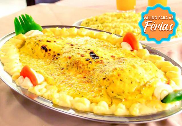 Peixes e frutos do mar no lugar certo! Prato de Filé de Peixe com 3 opções para até 3 pessoas por apenas R$41,90 no Sirigado da Barão