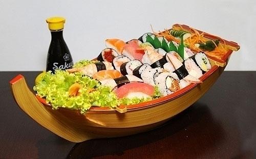 Combinado de 24 peças de sushi de R$61,90 por R$43,90