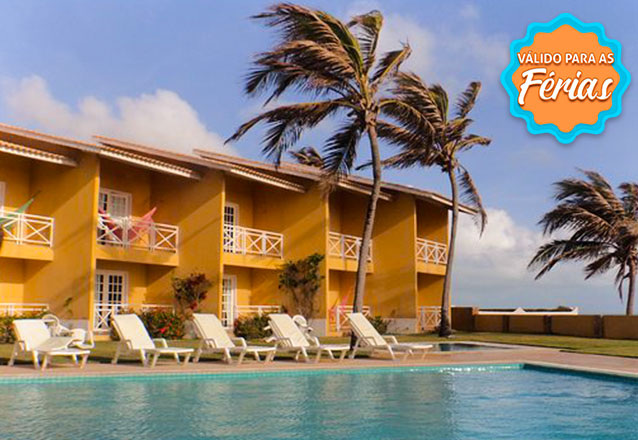 1 diária para casal + café da manhã + Jantar e Sobremesa (verificar opções do dia diretamente com o hotel) por R$305