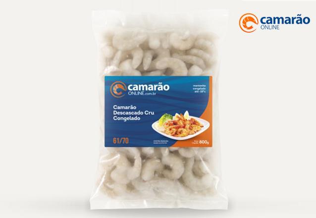 Camarão Descascado Pré-Cozido (Filé) 71/90 - 400g (Maris) por R$39,99