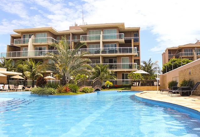 O lugar perfeito! 2 diárias para até 6 pessoas (adulto ou criança) em Cobertura Duplex com 3 quartos por R$999 no Palm Beach - Porto das Dunas