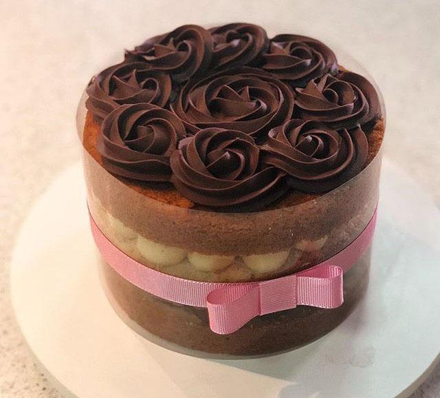 Biju Doces - 1 Bolo Chantininho ou Naked Cake para até 15