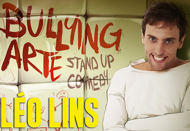 """Léo Lins no Theatro Via Sul! Ingresso Inteira Plateia Superior para o stand up comedy """"Bullying Arte"""" de R$60 por apenas R$30"""