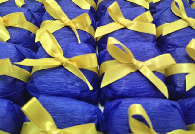 30 cones trufados de R$120 por R$105