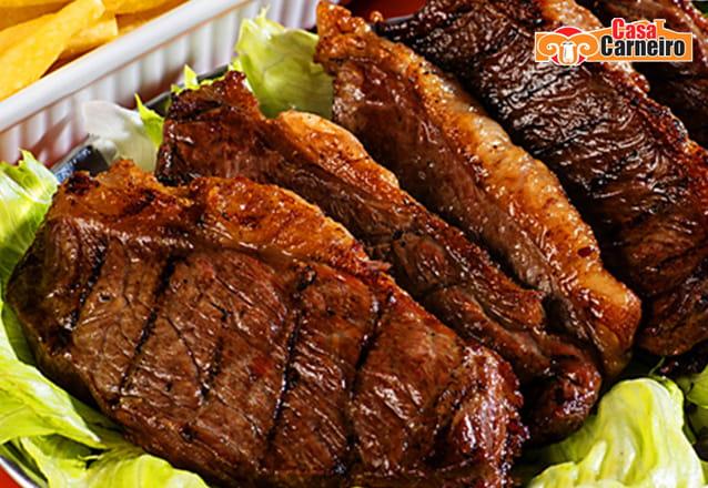 Prato Principal de Camarão à Grega OU Carne de Sol Cearense OU Maminha na Brasa OU Filé ou Frango à Parmegiana para 2 pessoas de até R$50 por R$29,99
