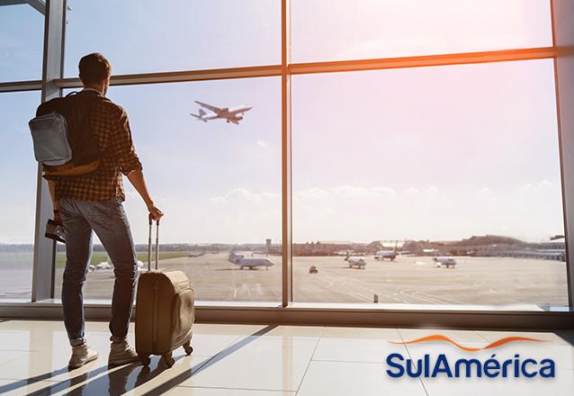 O Barato e a SulAmérica fecham parceria para o seu seguro viagem! Faça sua cotação com 30% OFF e conte com a SulAmérica para viajar com tranquilidade e segurança!